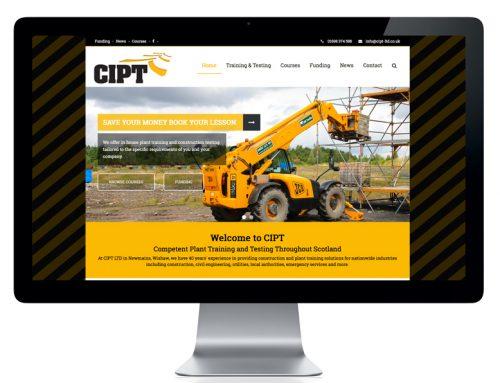 Website Design – New CIPT Website