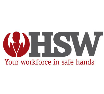Branding, logo design and website design for Glasgow based health and safety consultants, HSW.