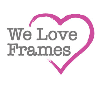 Branding and Logo design Website design for Scottish online retailer, We Love Frames.