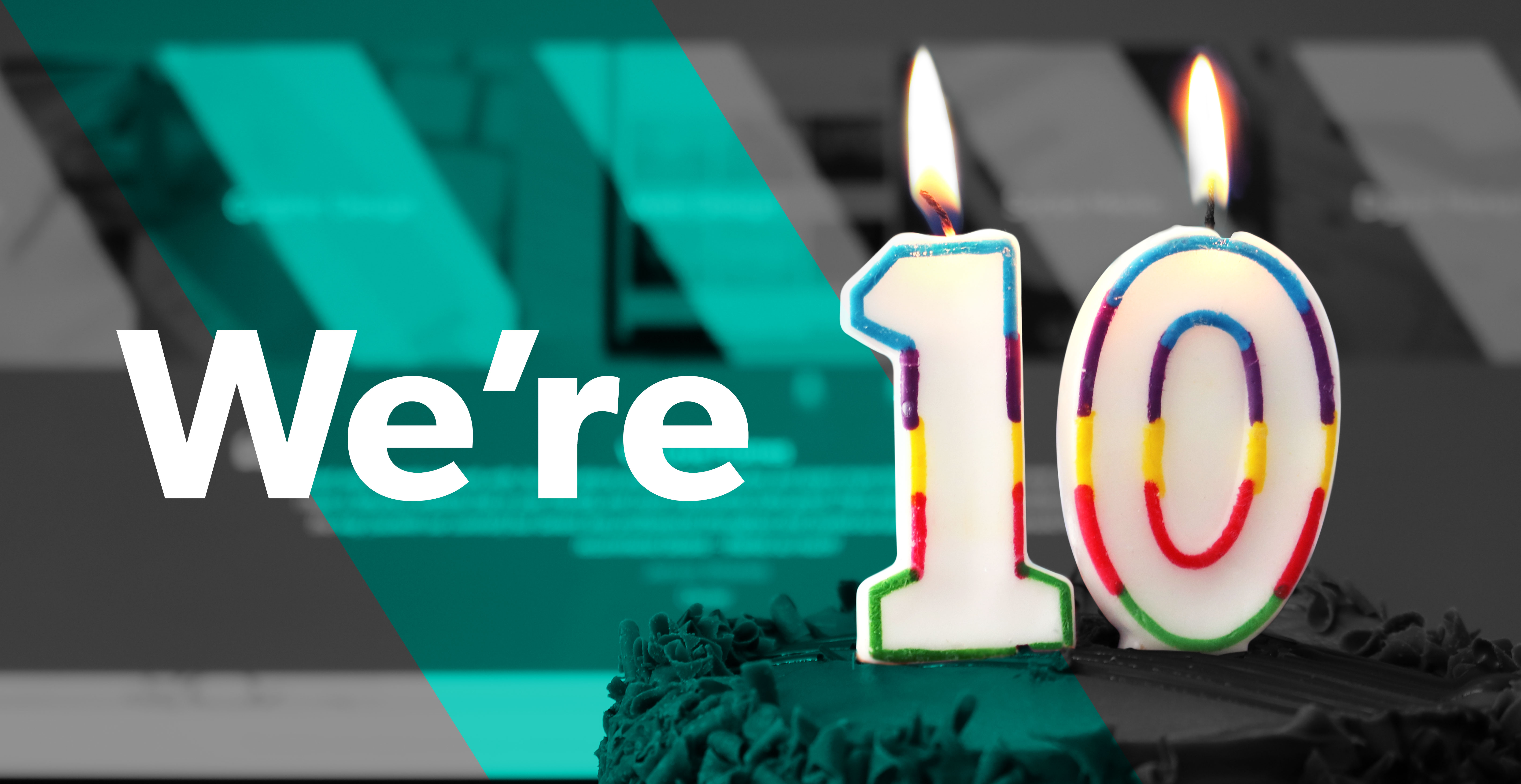 Celebrating 10 years in business as a Creative agency specialising in branding, graphic design and website design. Based in Glasgow, Scotland.