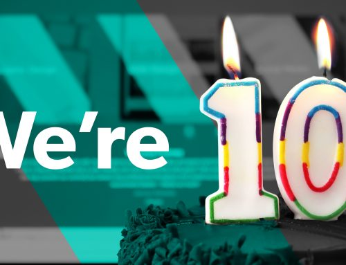 Our design agency is 10 years old. Happy birthday to us!