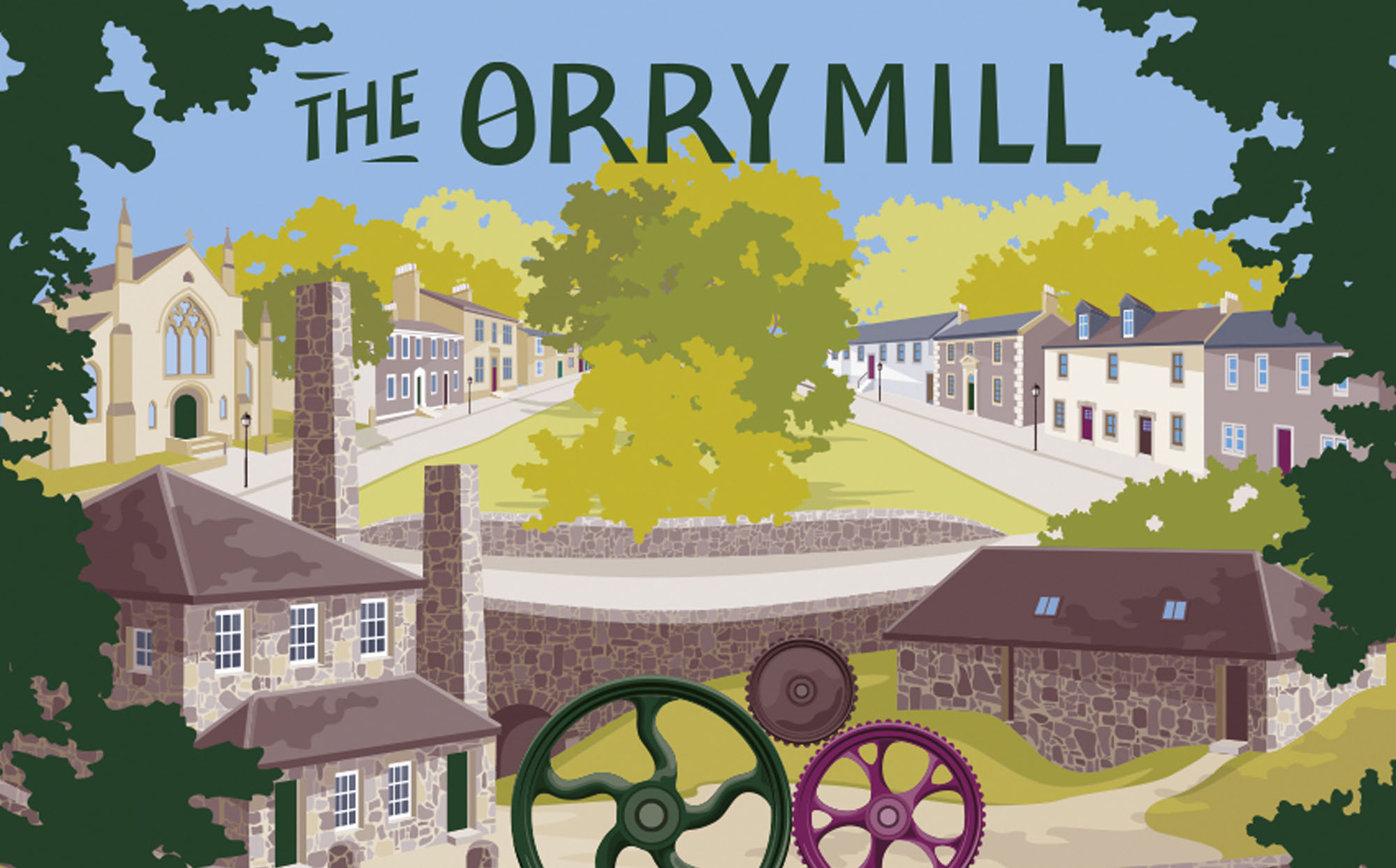 The Orry Mill Illustration